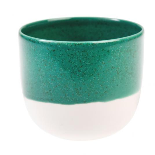 Paloma Ceramic T-light Holder Sea Green
