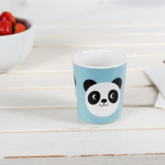 Panda kids blue Melamine cup