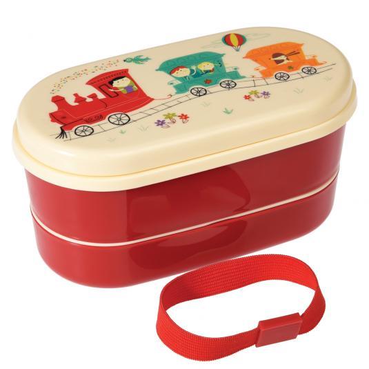 Party Train Mini Lunch Box