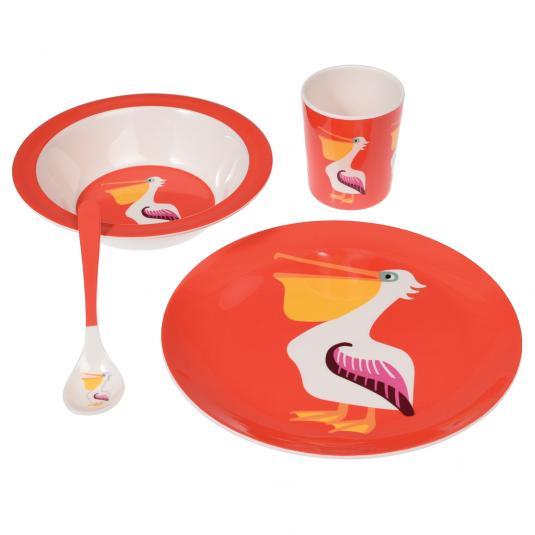 Kids Pelican Melamine Set