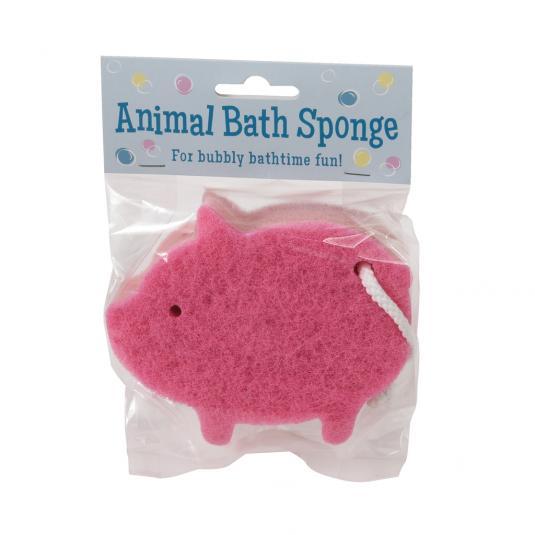 Pink Pig Sponge