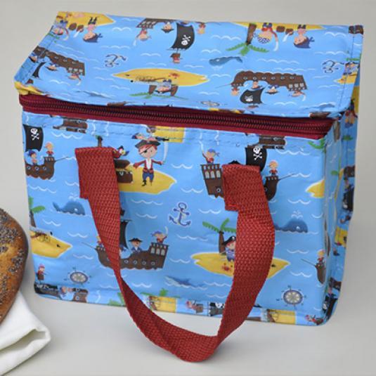 Pirate Fun Design Kids Insulated Lunch Bag