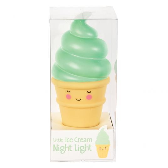 green night light in a box