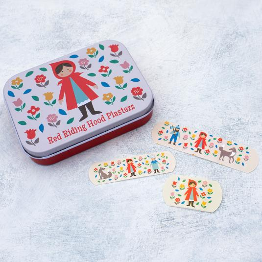 Plasters In Tin Little Red Riding Hood