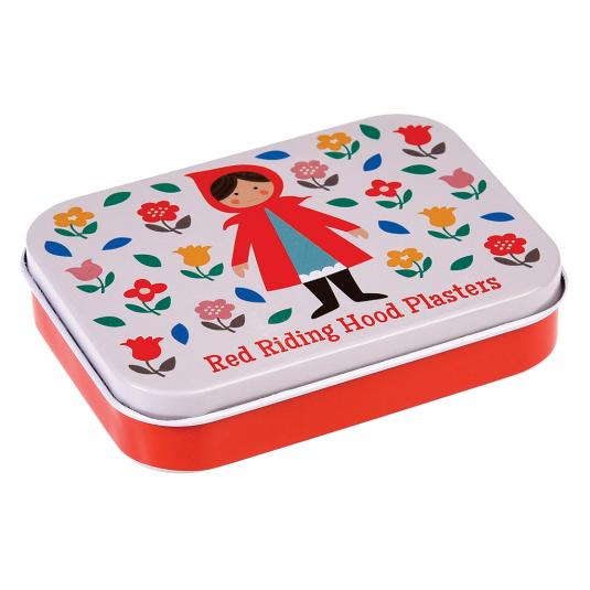 Kid's Plasters In Tin Little Red Riding Hood