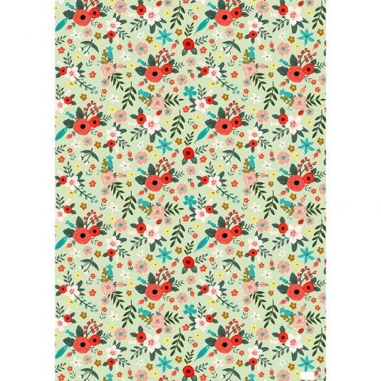 Poppy Meadow Wrapping Paper