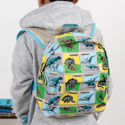 Dinosaur print mini backpack for children