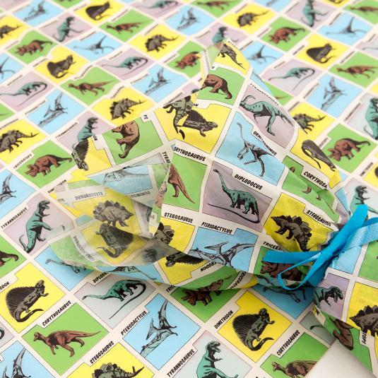 Prehistoric Land tissue paper (set of 10)