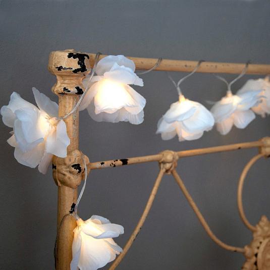 Rambling Rose Garland Fairy Lights