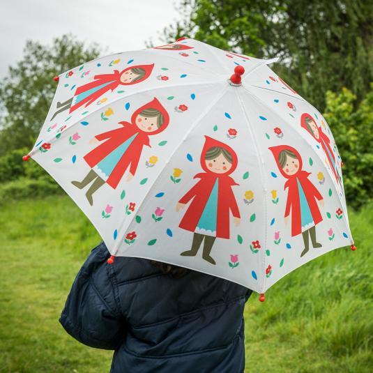 Red Riding Hood Kids Umbrella