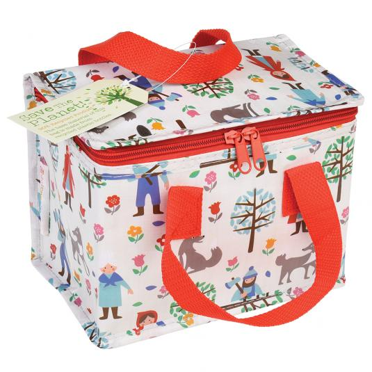 Foil insulated Red Riding Hood lunch bag