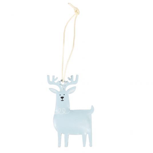 Reindeer christmas tree Metal Decoration