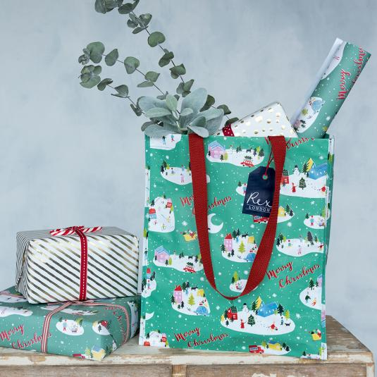 Rex London Christmas Shopping Bag