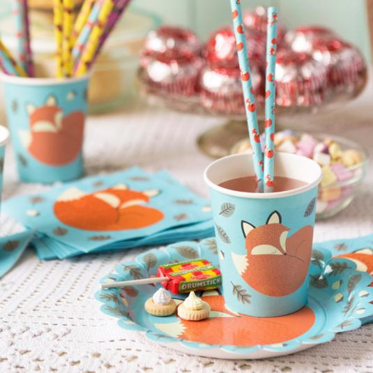 Rusty The Fox Party Tableware