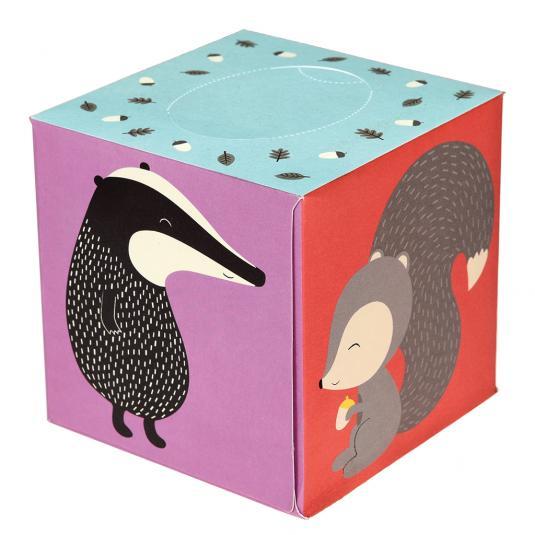 Woodland Animals Print Box of Tissues