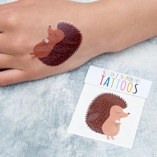 Honey The Hedgehog Temporary Tattoo