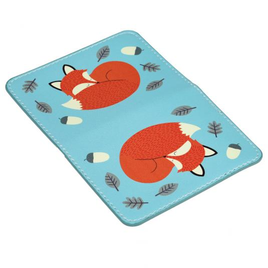 Rusty The Fox Travel Card Holder