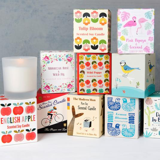 Scented candles In Gift Boxes