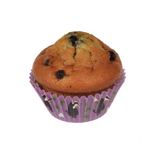 Mr Badger Print Cupcake Case