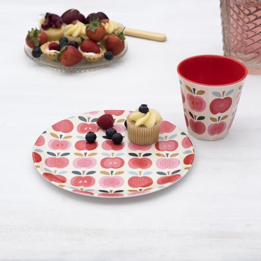 Vintage Apple Melamine Tableware