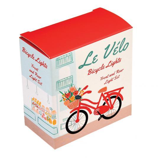 Set Of Bike Lights In Le Velo Design