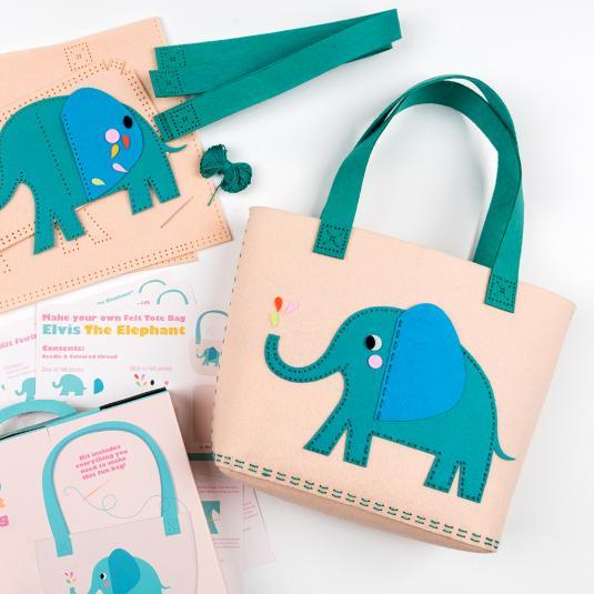 Elvis the Elephant DIY bag