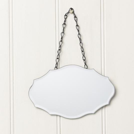 Small Chantilly Bevelled vintage Mirror