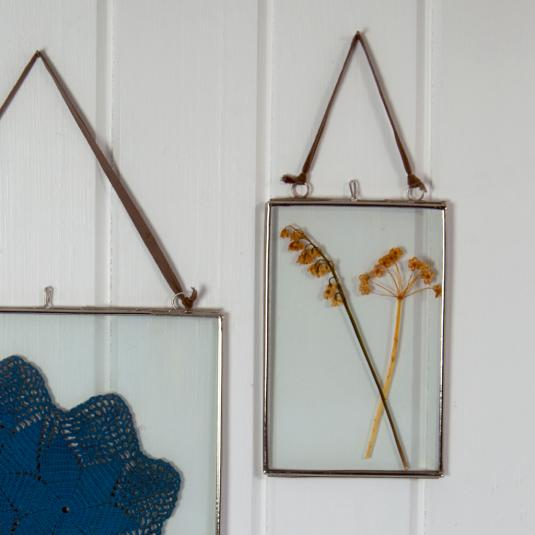 Small Glass Hanging Frame
