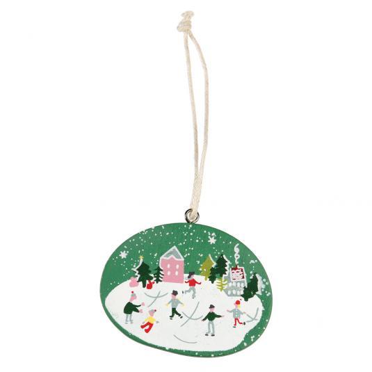 Hanging Snow Globe Decoration