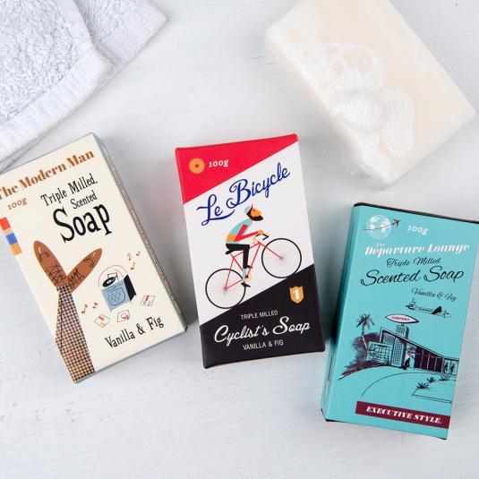Soap bar in a gift box