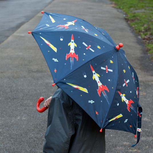 The Space Age children's spring loaded umbrella