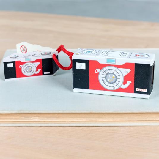 Mirrored spy camera for kids