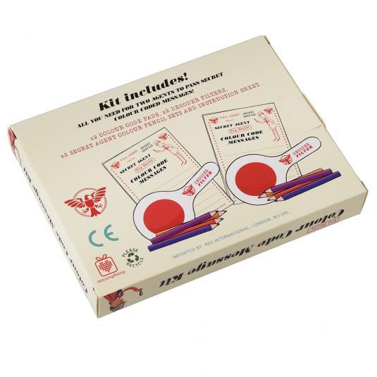 Spy Set Secret Messages Set in A Box