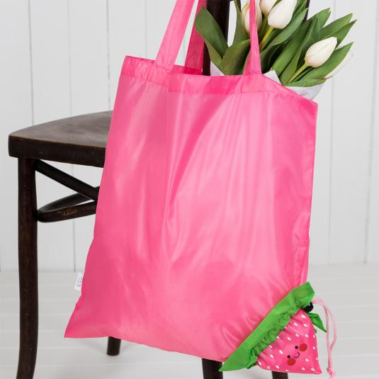 Strawberry Clip Bag