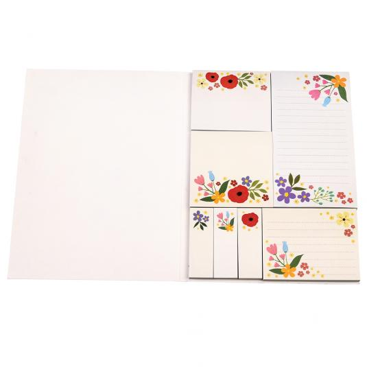 Floral print Memo Pads and Sticky Notes