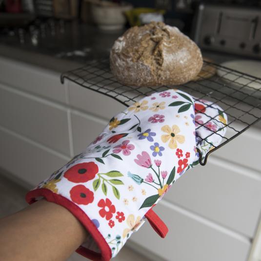 Summer Meadow Oven Glove