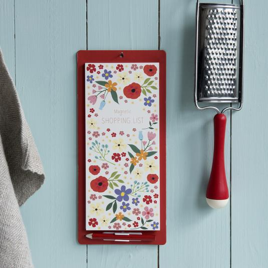 Floral Hanging Shopping List