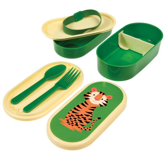 Tiger Bento Lunch Box