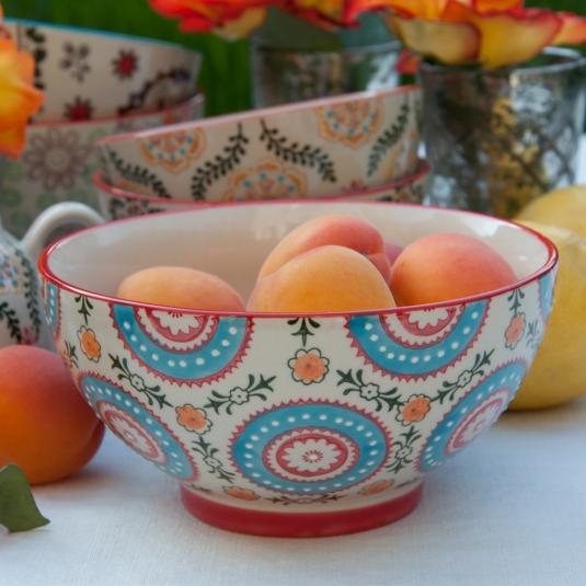 Toledo Design Large Stoneware Bowl