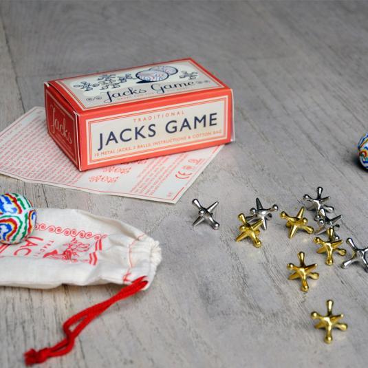 Traditional Jacks Game