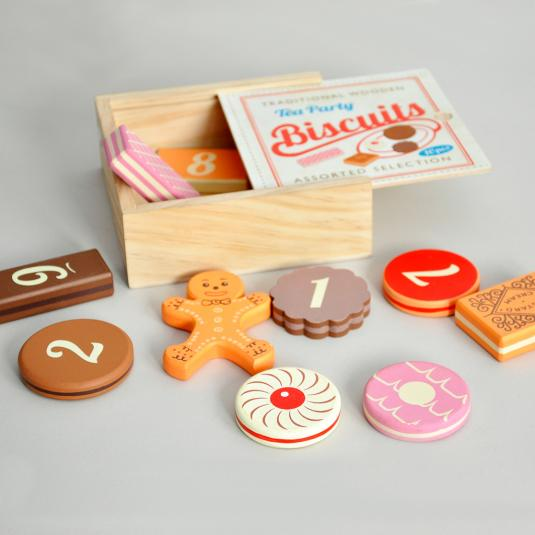 Traditional Tea Party Biscuits Game