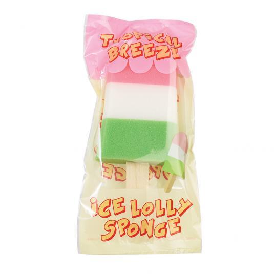 Tropical Breeze Ice Lolly Sponge