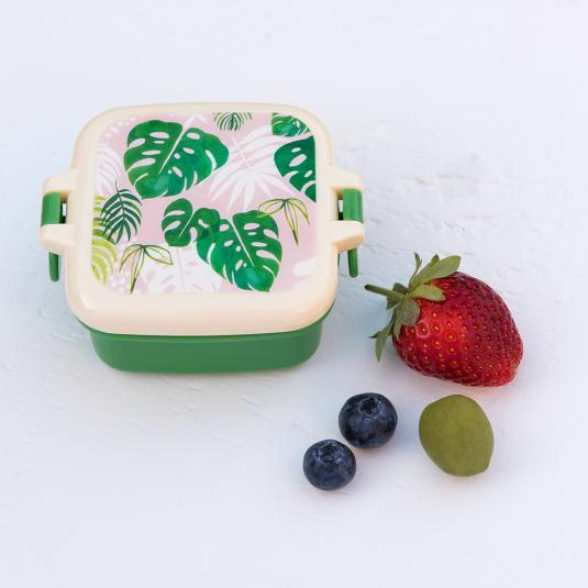 Palm Leaf Snack Pot