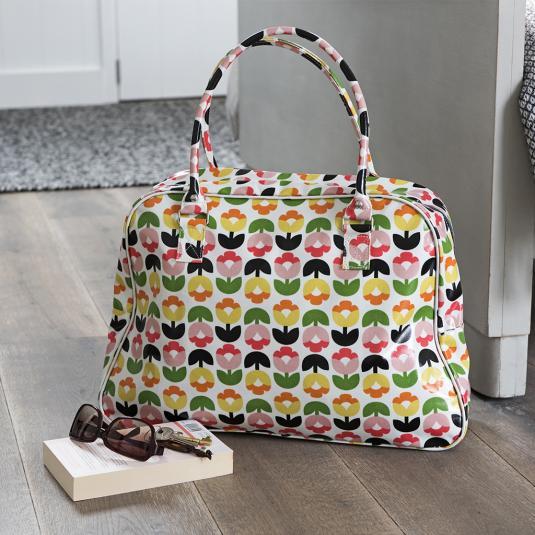 Tulip Bloom Floral Travel weekend Bag