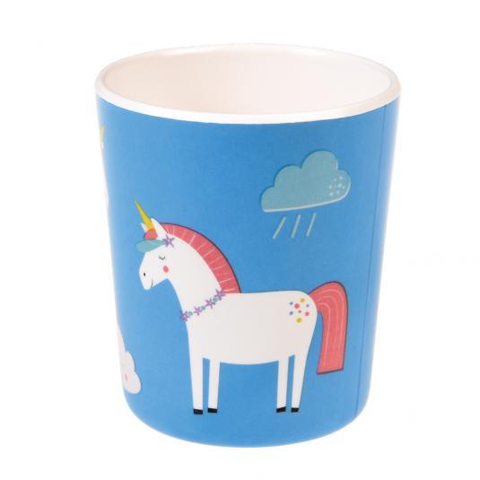 Unicorn Melamine Cup
