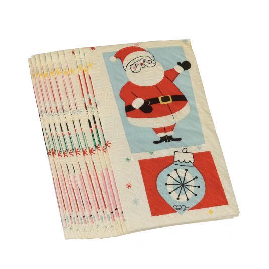 Festive Family Christmas Print Tissues