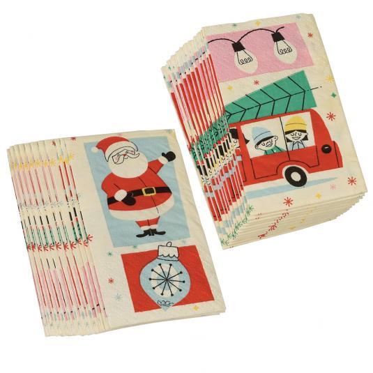 Christmas Pocket Tissues