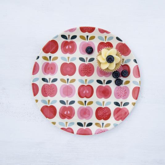 Vintage Apple Melamine Plate
