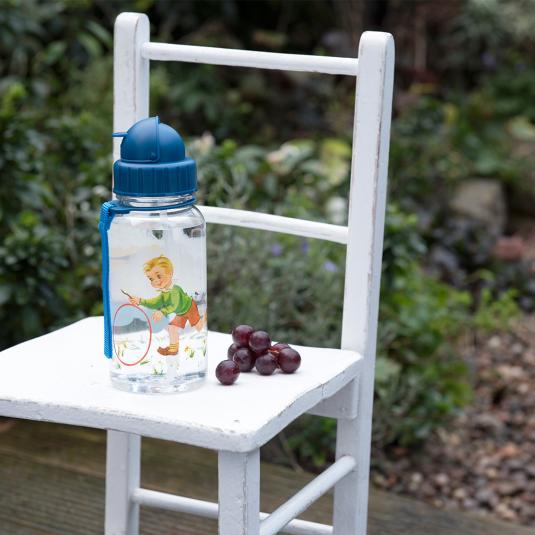 Vintage Boy Kids' Water Bottle
