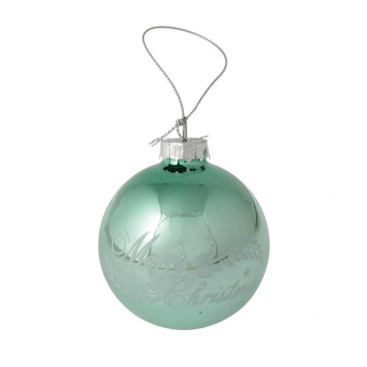 Set Of 12 Vintage Glass Christmas Baubles Rex London At